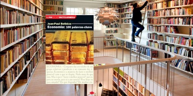 Biblioteca em casa, 100 palavras.