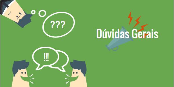 DUVIDAS GERAIS