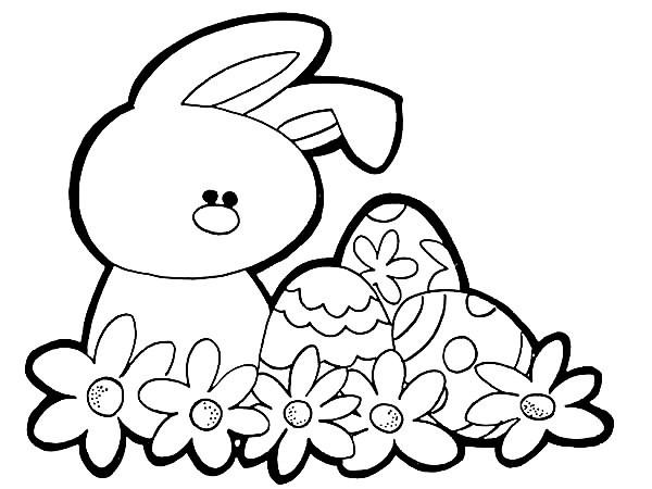 Desenhos De Coelho Da Pascoa Para Imprimir E Colorir 04 Economia